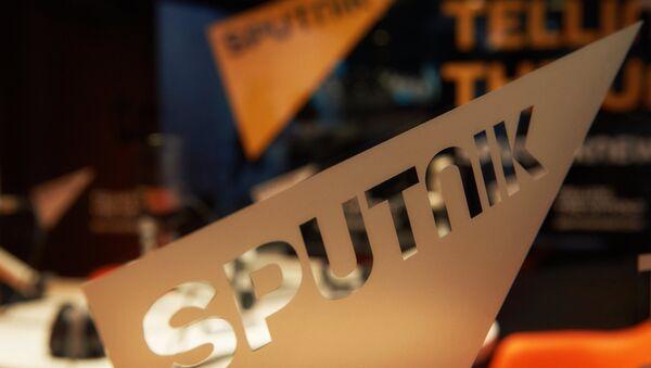 Логотип международного информационного бренда Sputnik  - Sputnik Узбекистан