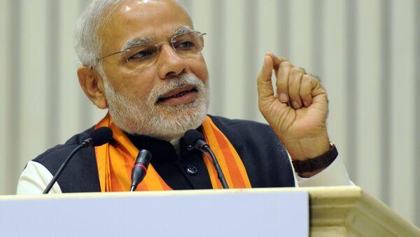 Премьер-министр Индии Нарендра Моди - Sputnik Ўзбекистон