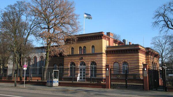 Здании Посольства Узбекистана в Германии - Sputnik Ўзбекистон