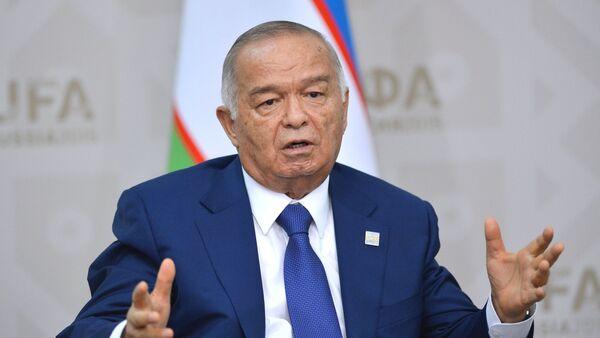 Президент Узбекистана Ислам Каримов. - Sputnik Узбекистан