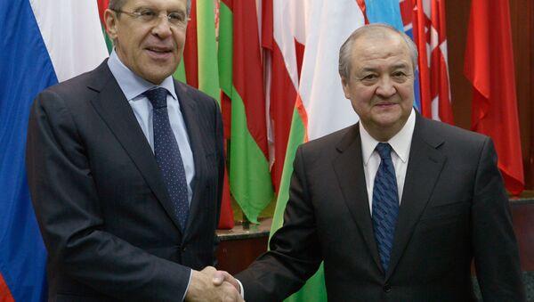 Переговоры С.Лаврова и А.Камилова - Sputnik Узбекистан