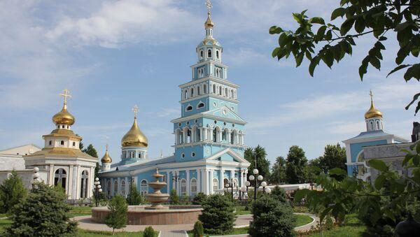 Успенский кафедральный собор в Ташкенте - Sputnik Ўзбекистон