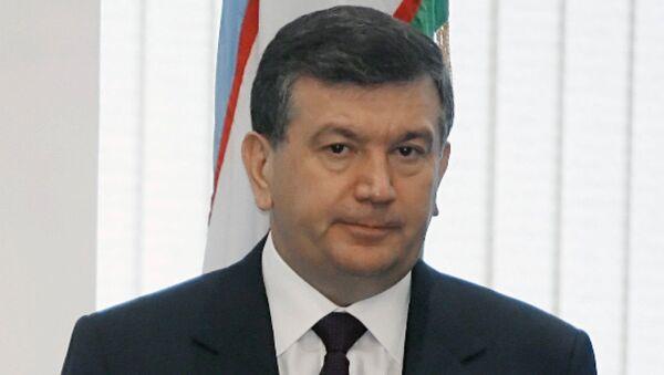 Premyer-ministr Uzbekistana Shavkat Mirziyayev - Sputnik Oʻzbekiston