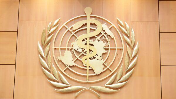 Логотип Всемирной организации здравоохранения (ВОЗ) - Sputnik Узбекистан