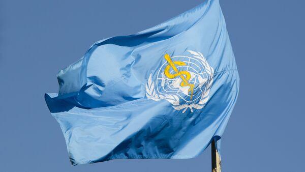 Флаг Всемирной организации здравоохранения (ВОЗ) - Sputnik Узбекистан