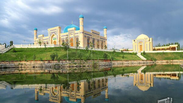 Завершена реконструкция комплекса Султан Увайс Карани - фото - Sputnik Узбекистан
