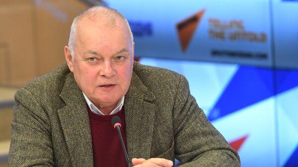 Генеральный директор МИА Россия сегодня Дмитрий Киселев - Sputnik Ўзбекистон