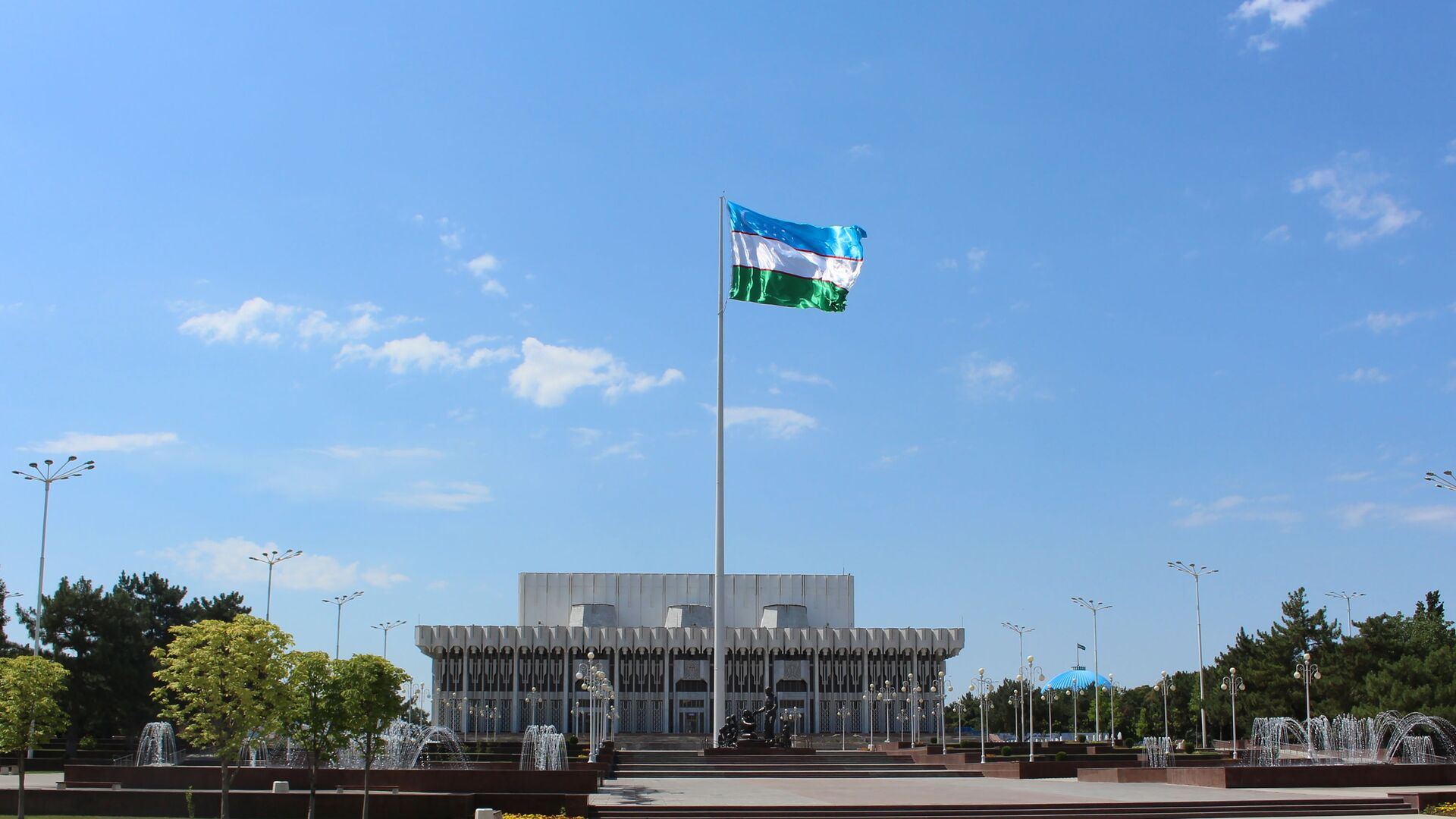 Площадь Дружбы народов - Sputnik Ўзбекистон, 1920, 10.08.2021