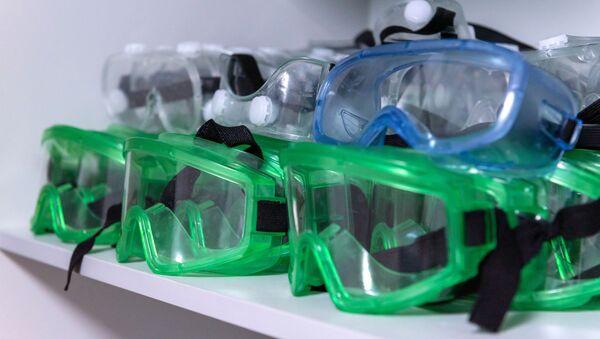 Защитные маски для медицинских работников - Sputnik Ўзбекистон