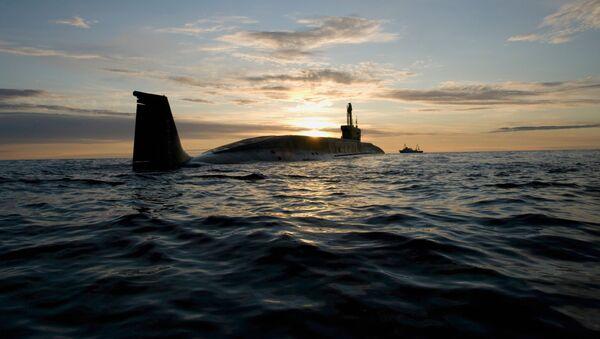 Atomnaya podvodnaya lodka VMF Rossii. Arxivnoye foto - Sputnik Oʻzbekiston