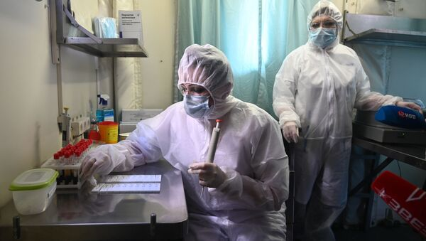 Клинико-диагностическая лаборатория - Sputnik Ўзбекистон