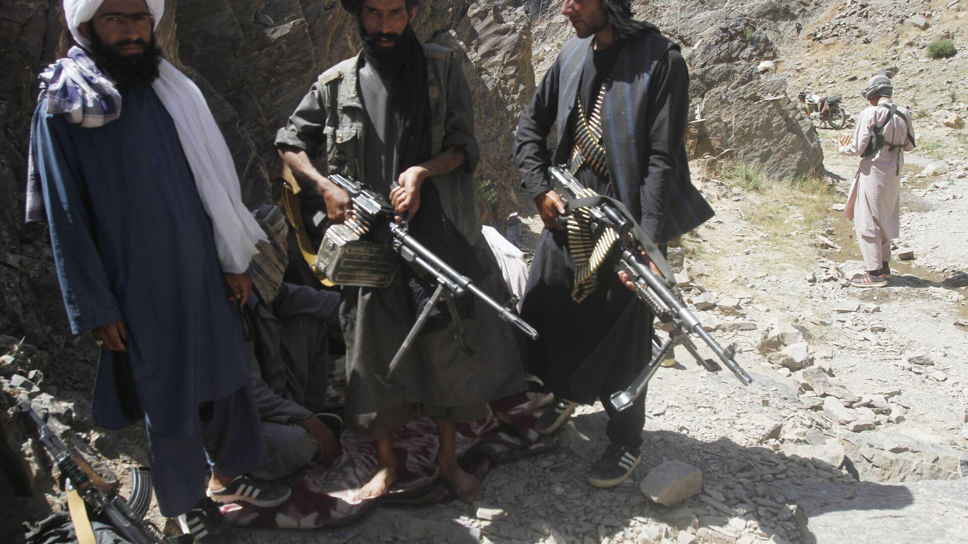 Боевики движения Талибан* - Sputnik Узбекистан, 1920, 06.07.2021