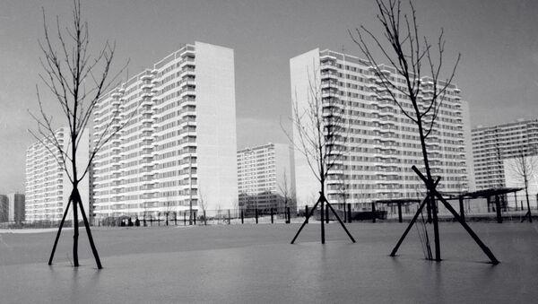 Олимпийская деревня в Москве - Sputnik Узбекистан