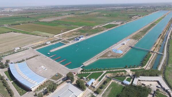Олимпийское наследие Самарканда: как появился единственный в ЦА гребной канал - Sputnik Узбекистан