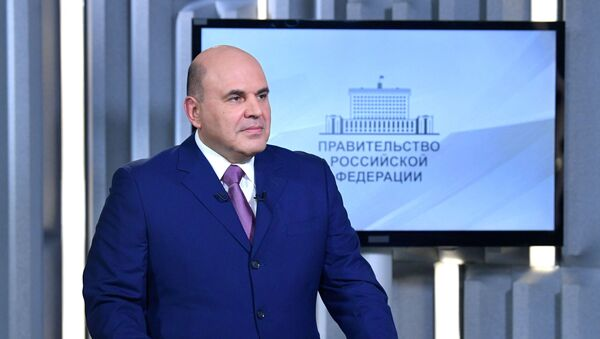 Premyer-ministr Rossii Mixail Mishustin - Sputnik Oʻzbekiston
