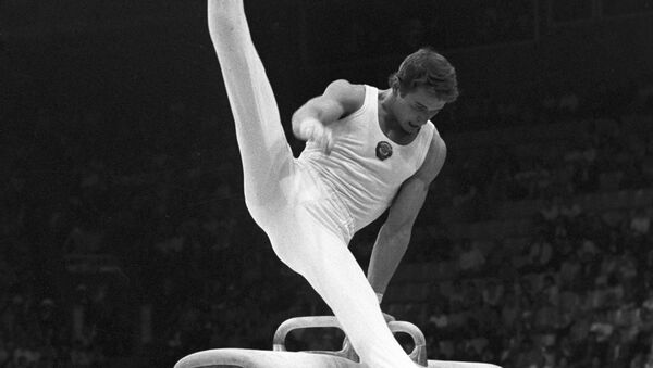 Абсолютный олимпийский чемпион, абсолютный чемпион мира и Европы гимнаст Александр Дитятин - Sputnik Узбекистан