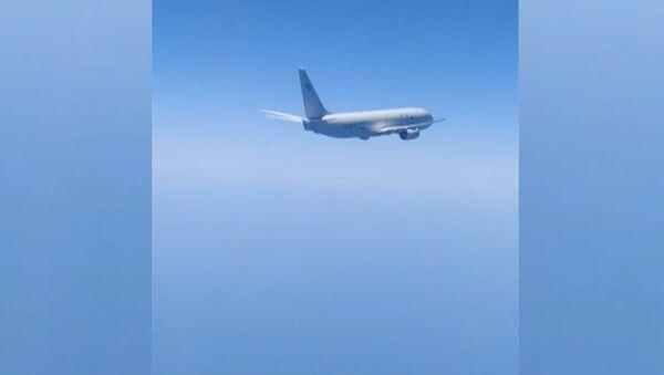 Разведчики на прицеле: российские силы ПВО сопроводили самолеты НАТО над Балтийским и Черным морями - Sputnik Узбекистан