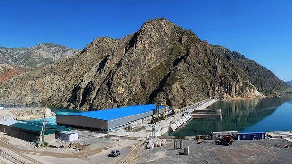 Плотина Сангтудинской ГЭС в Таджикистане - Sputnik Узбекистан