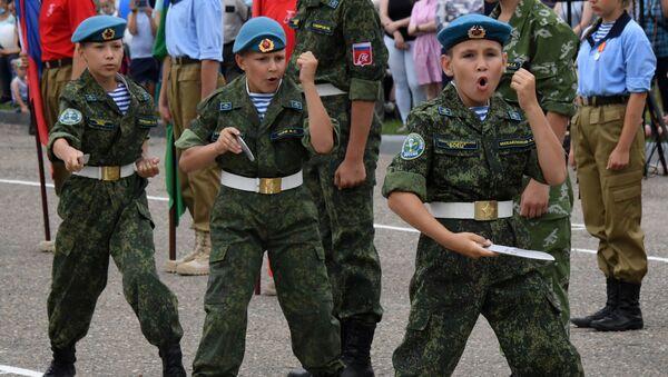 Meropriyatiya v chest 90-letiya VDV - Sputnik Oʻzbekiston