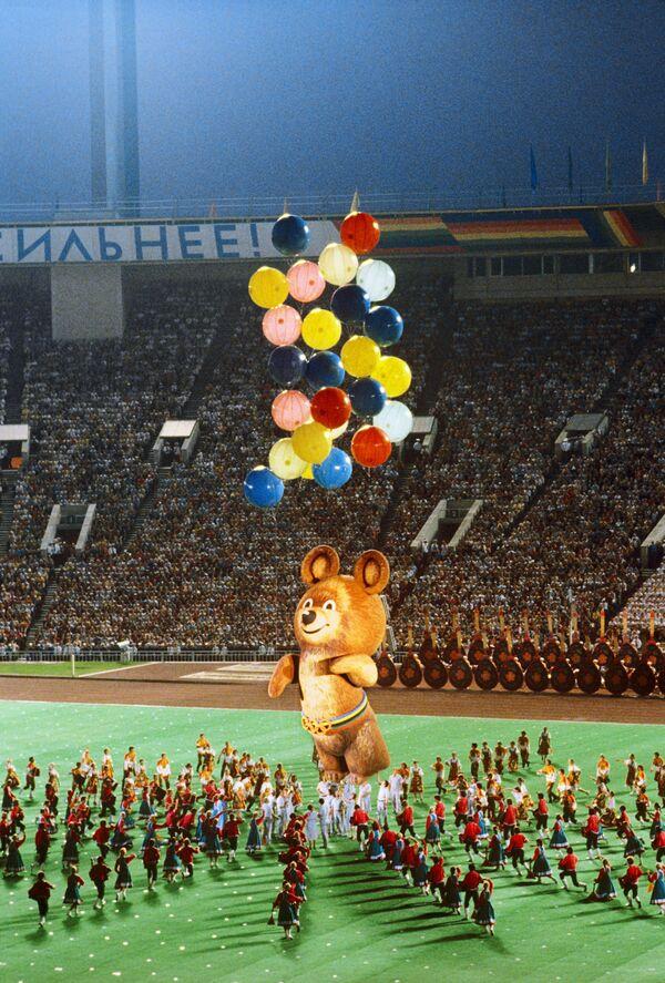Торжественное закрытие XXII летних Олимпийских игр 1980 - Sputnik Узбекистан