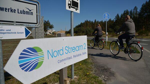 Строительство газопровода Северный поток-2 в Германии - Sputnik Узбекистан