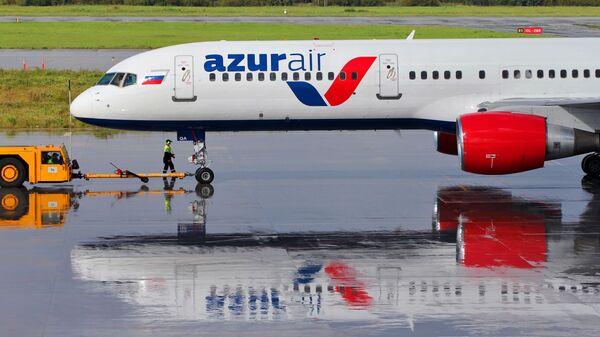 Самолет авиакомпании Azur Air - Sputnik Узбекистан