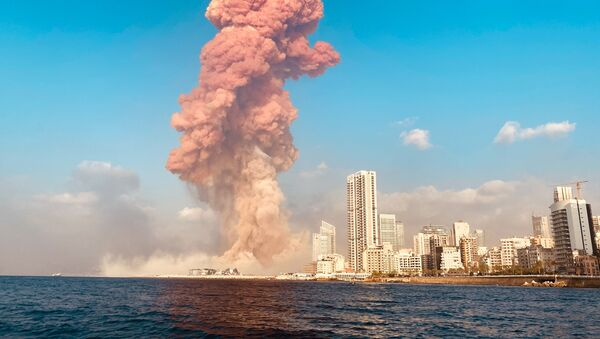 Взрыв в Бейруте - Sputnik Узбекистан