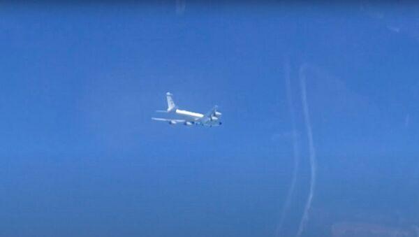 Сопровождение самолетов разведчиков ВВС и ВМС США - Sputnik Ўзбекистон