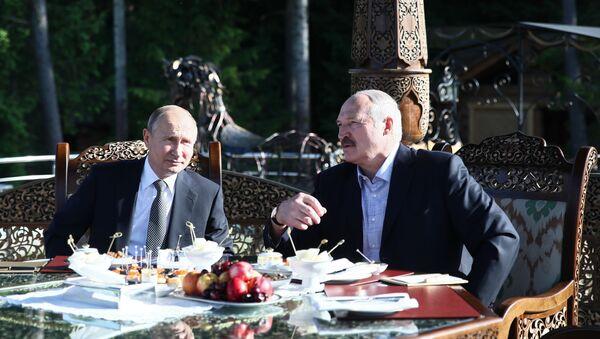 Рабочий визит президента РФ В. Путина в Республику Беларусь - Sputnik Узбекистан