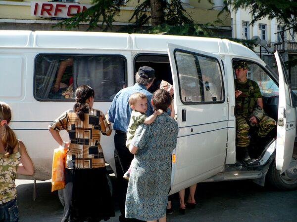 Грузия в ночь на 8 августа 2008 года обстреляла из установок залпового огня Град Южную Осетию. Была разрушена часть ее столицы Цхинвала.  - Sputnik Узбекистан