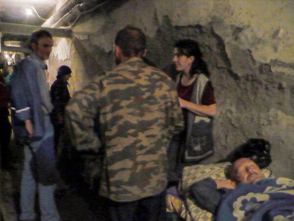 В подвале больницы Цхинвала. - Sputnik Узбекистан