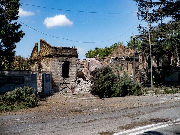 Улицы Цхинвала. - Sputnik Узбекистан