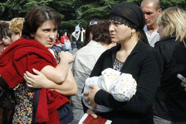 Цхинвал, август 2008 года. - Sputnik Узбекистан