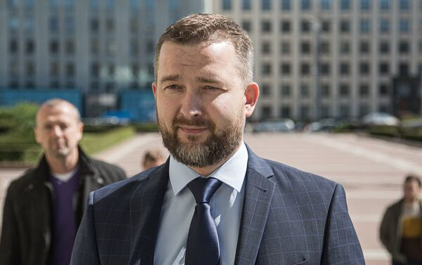 Кандидат в президенты Беларуси Сергей Черечень - Sputnik Узбекистан