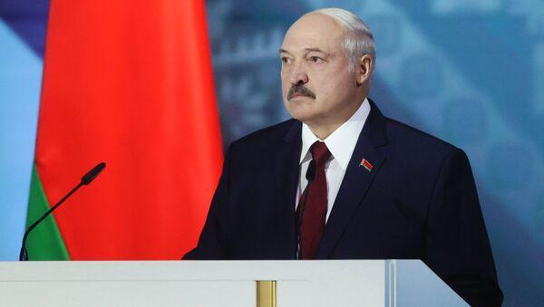 Обращение президента Беларуси Александра Лукашенко накануне выборов - Sputnik Узбекистан