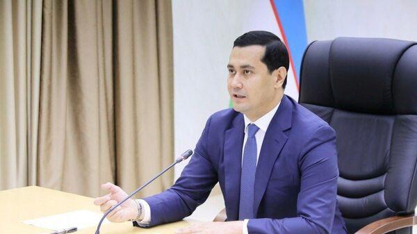 Premyer-ministra, ministr investitsiy i vneshney torgovli RUz Sardor Umurzakov - Sputnik Oʻzbekiston