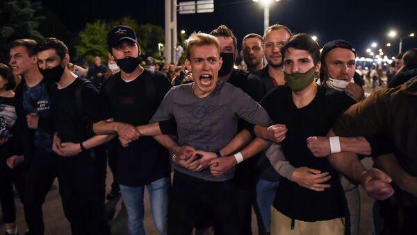 Протесты в Беларуси - Sputnik Ўзбекистон