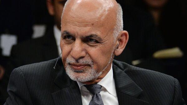 Президент Афганистана Ашраф Гани - Sputnik Узбекистан