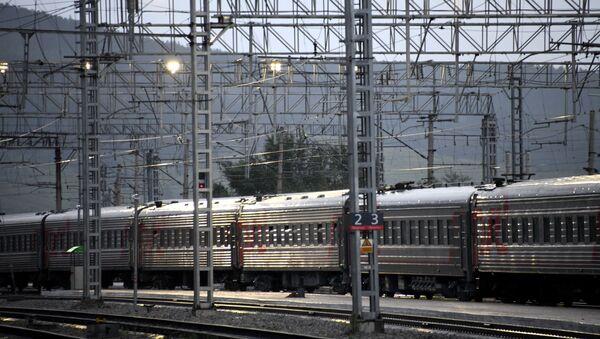 Железнодорожные вагоны - Sputnik Узбекистан