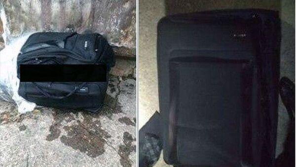 В чемодане был обнаружен труп - Sputnik Ўзбекистон