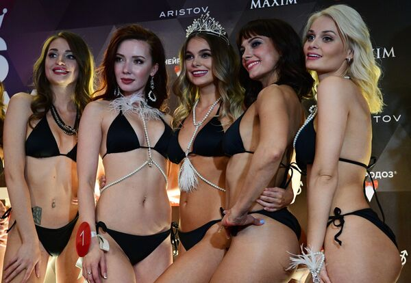 Miss Maxim 2020 гўзаллик танловининг финал босқичи иштирокчилари - Sputnik Ўзбекистон