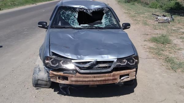 Пьяный водитель сбил двоих детей в Каракалпакстане  - Sputnik Узбекистан