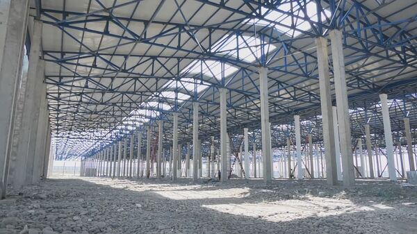 Строительство завода по сборке электромобилей - Sputnik Узбекистан