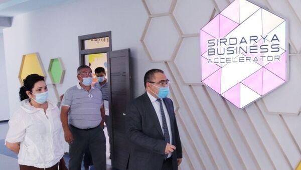 В Сырдарье завершили строительство здания бизнес-акселератора - Sputnik Узбекистан
