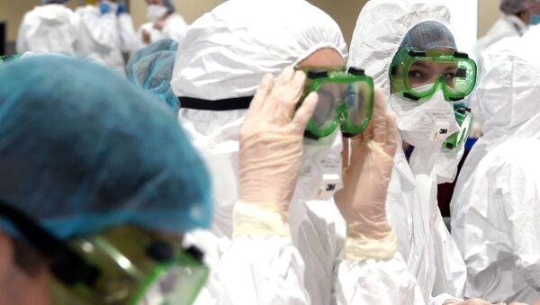 В Шереметьево усилили санитарный контроль в связи с коронавирусом   - Sputnik Узбекистан
