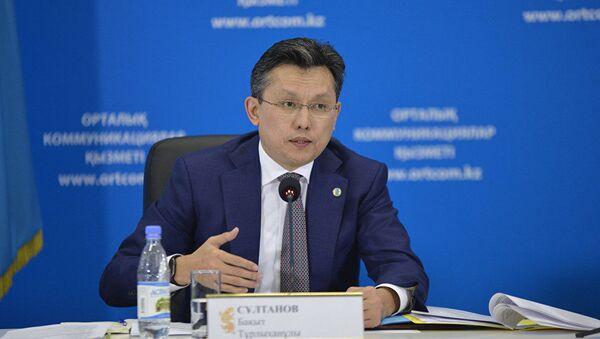 Министр торговли и интеграции Казахстана Бахыт Султанов - Sputnik Ўзбекистон
