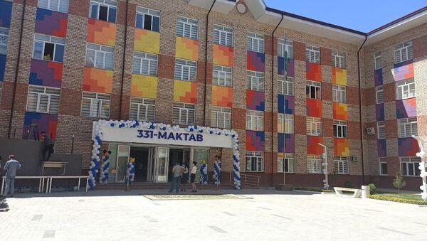 Новая школа открылась в Сергелийском районе Ташкента - фото - Sputnik Узбекистан