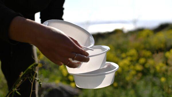 Пластиковая посуда - Sputnik Узбекистан