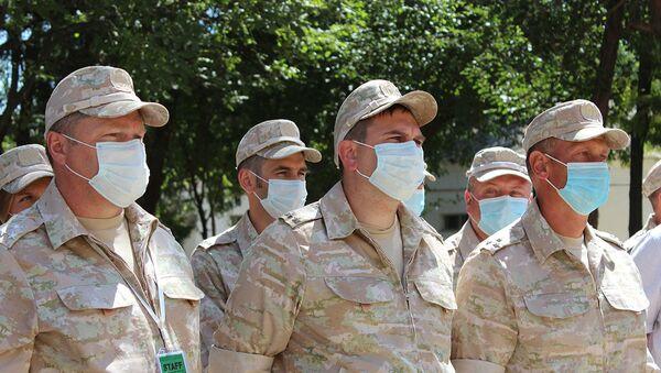 Участники Военно-медицинской эстафеты посетили Самарканд - фото - Sputnik Узбекистан