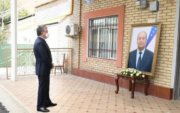 Траурные мероприятия в память о Кариме Камалове, исполнявшем обязанности хокима Бухарской области - Sputnik Узбекистан